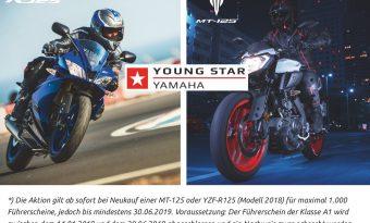 Yamaha übernimmt 50% eurer A1 Führerscheinkosten beim Neukauf einer YZF-R125 oder MT-125*